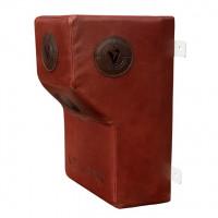 Апперкотная подушка из нат. кожи Veiland коричневая