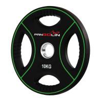 Олимпийский полиуретановый диск 10 кг. WP012PU