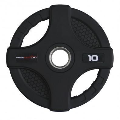 Олимпийский обрезиненный диск 10 кг. WP088