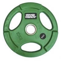 Олимпийский обрезиненный диск 10 кг. WP074
