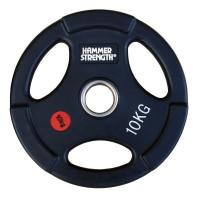 Олимпийский обрезиненный диск 10 кг. WP074B