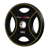 Олимпийский полиуретановый диск 15 кг. WP012PU