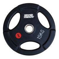 Олимпийский обрезиненный диск 15 кг. WP074B