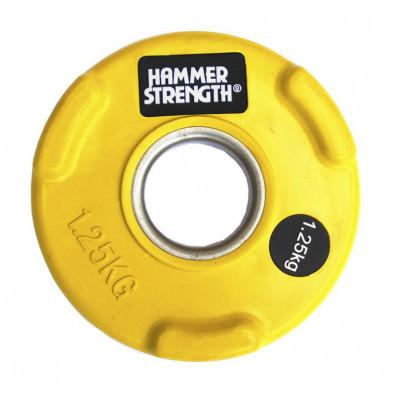 Олимпийский обрезиненный диск 1.25 кг. WP074