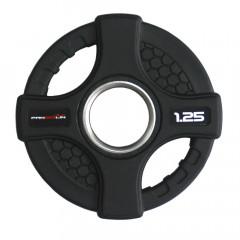 Олимпийский обрезиненный диск 1.25 кг. WP088