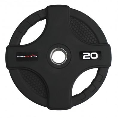 Олимпийский обрезиненный диск 20 кг. WP088