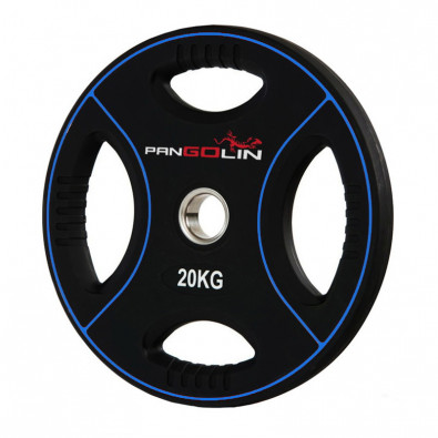 Олимпийский полиуретановый диск 20 кг. WP012PU