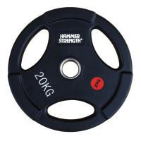 Олимпийский обрезиненный диск 20 кг. WP074B