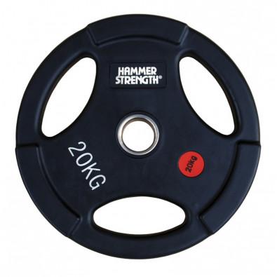 Олимпийский обрезиненный диск 20кг. WP074B