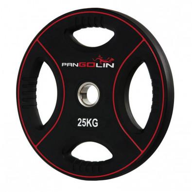Олимпийский полиуретановый диск 25 кг. WP012PU