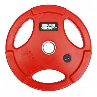 Олимпийский обрезиненный диск 25 кг. WP074