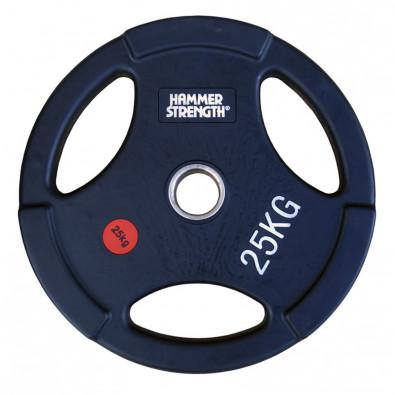 Олимпийский обрезиненный диск 25 кг. WP074B