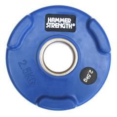 Олимпийский обрезиненный диск 2.5 кг. WP074
