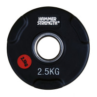 Олимпийский обрезиненный диск 2.5 кг. WP074B