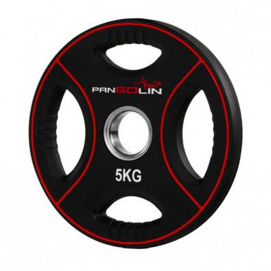 Олимпийский полиуретановый диск 5 кг. WP012PU