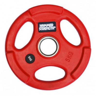 Олимпийский обрезиненный диск 5 кг. WP0745