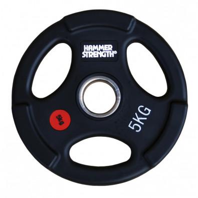 Олимпийский обрезиненный диск 5 кг. WP074B