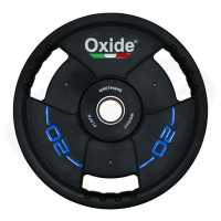 Черный олимпийский полиуретановый диск 20 кг. OWP02