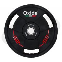 Черный олимпийский полиуретановый диск 25 кг. OWP02