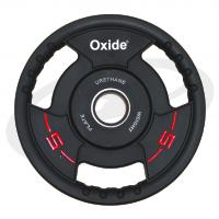 Черный олимпийский полиуретановый диск 5 кг. OWP02