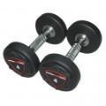 Гантели полиуретановые круглые 6 до 20 кг. DB006PU