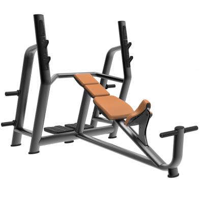 Олимпийская наклонная скамья LD-7019 Land Fitness