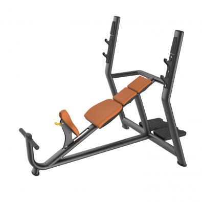 Олимпийская наклонная скамья LD-7019A Land Fitness