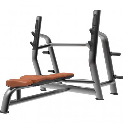 Олимпийская скамья для жима горизонтальная LD-7027 Land Fitness