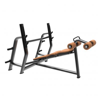 Скамья для жима олимпийская с обратным наклоном LD-7030 Land Fitness