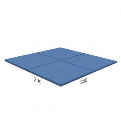 Антирикошетное покрытие Rubblex  Target 500x500x40 мм