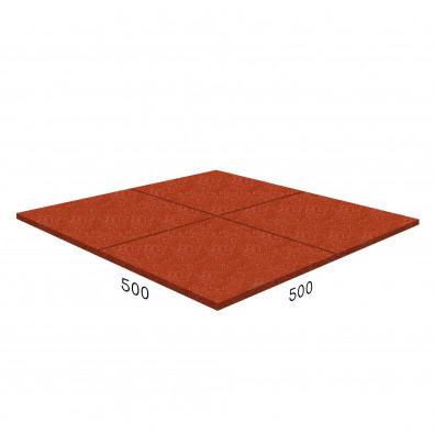 Антирикошетное покрытие Rubblex  Target 500x500x30 мм