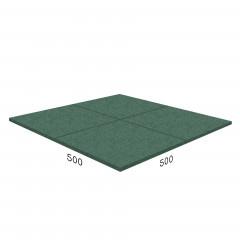 Антирикошетное покрытие Rubblex  Target 500x500x43 мм
