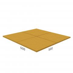 Антирикошетное покрытие Rubblex  Target 500x500x20 мм