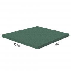Резиновая плитка Rubblex Sport 1000x1000x10 мм