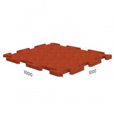 Резиновая плитка Rubblex Sport Puzzle 1000x1000x25 мм